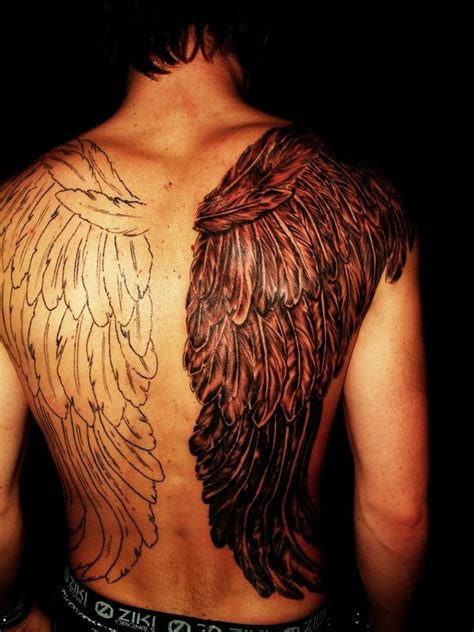 back shoulder tattoos for men 71 dramatic shoulder tattoos for