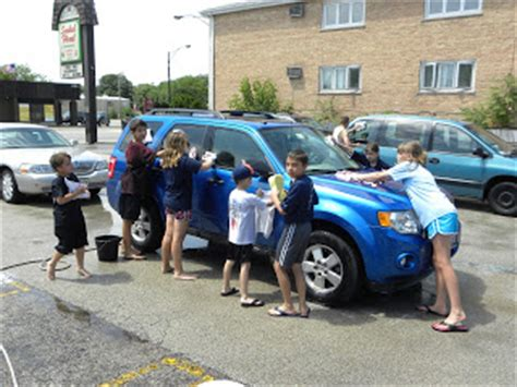 southwest chicago post st scouts clean up at car wash