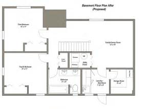 one floor house plans with basement finished basement floor plans finished basement floor plans younger unger house the plan 27282