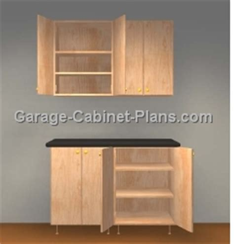 Plywood Cabinet Plans by Garage Cabinets Plywood Garage Cabinets Plans