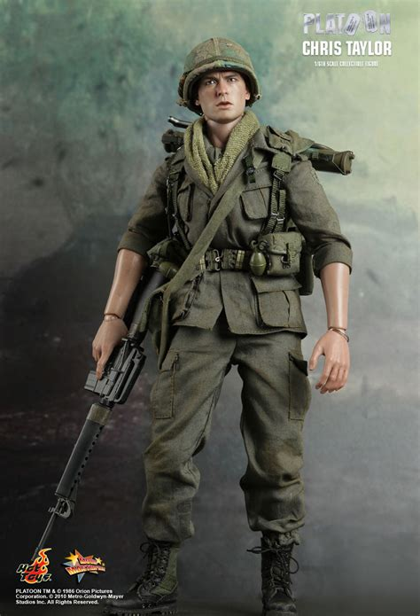 1 6 Army Shorts Untuk Toys Hottoys toys platoon chris 1 6th scale collectible