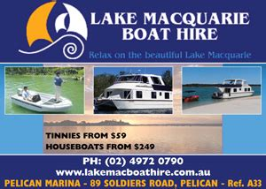 pelican boat hire nsw lake macquarie nsw accommodation tourist attractions