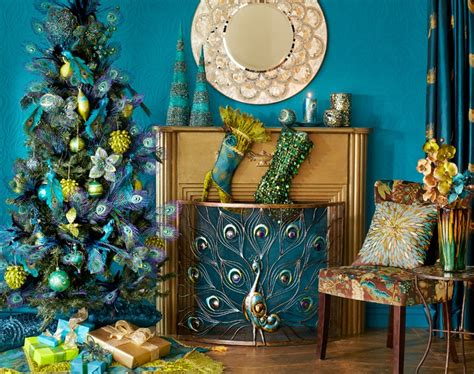 the peacock decor neat ideas