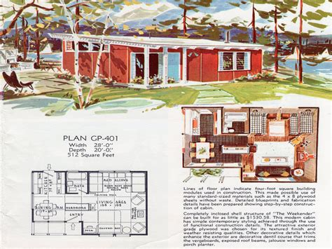 vintage style floor ls 1950s ranch house plans mid century ranch style rambler