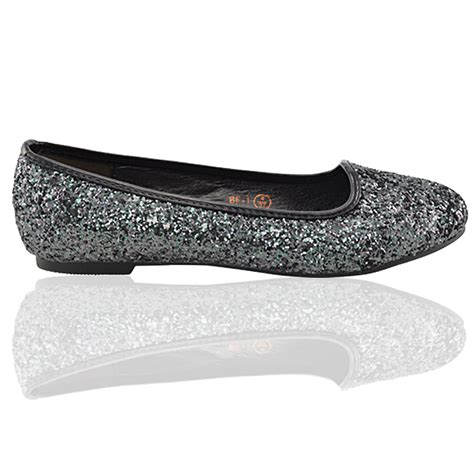 homecoming shoes flats womens glitter flats slip on ballerina bridal prom