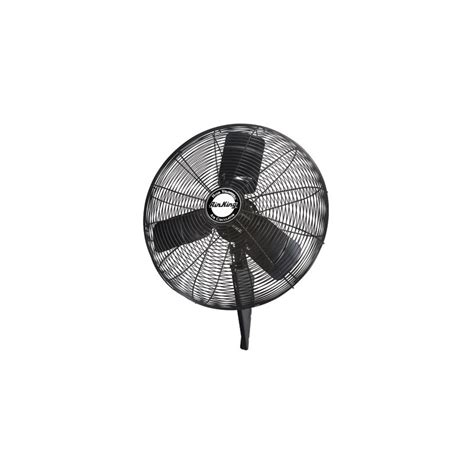 quiet wall mount fan air king 99539 black 24 quot quiet wall mount fan
