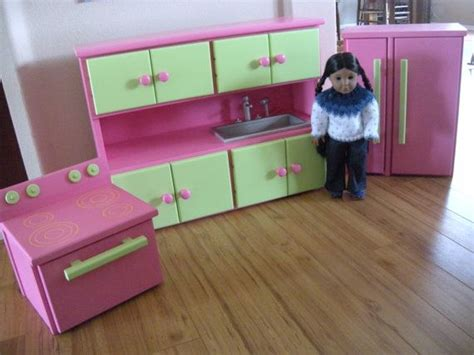 18 inch doll kitchen furniture kitchen furniture set for american girl doll or 18 inch