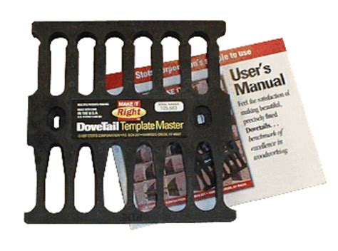 Dovetail Template Master stots dovetail template master review