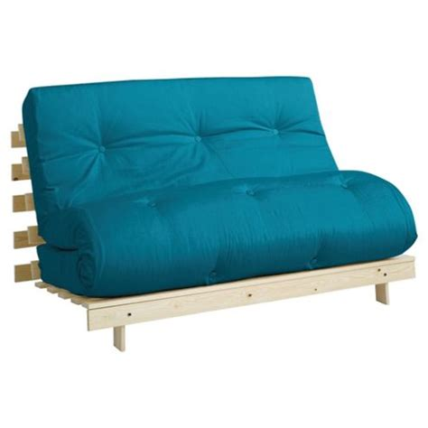 teal futon buy helsinki pine double futon with mattress teal from our