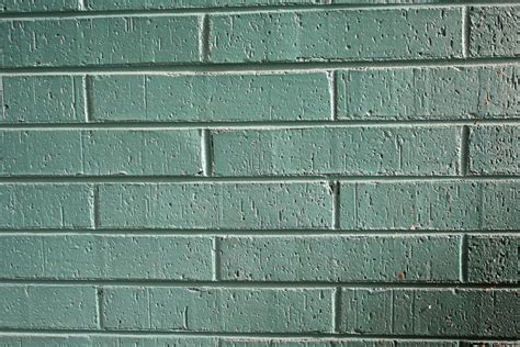 green painted brick wall texture picture free photograph brick wall painted green www imgkid com the image kid