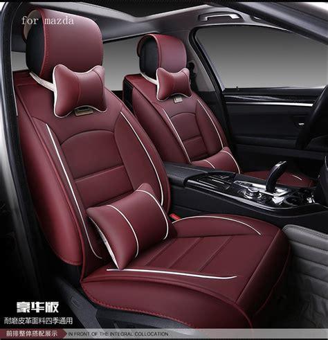 mazda 6 car seat leather for mazda 6 2 3 cx 5 cx 7 cx 9 brand beige black