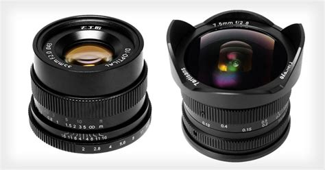 affordable mirrorless 7artisans unveils four new affordable lenses for