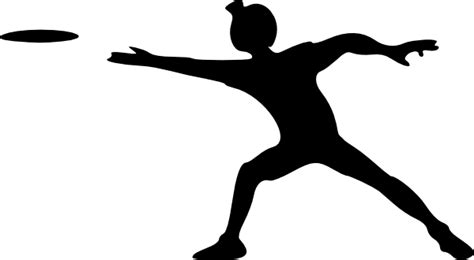 frisbee clipart frisbee clip at clker vector clip