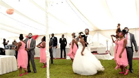 Best Zimbabwe Wedding Dance. Michael Doba and Chenai