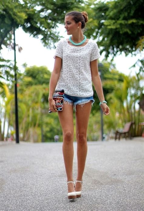The White Jean Is All About And Summer by Cool Summer Ideas With Shorts Pretty Designs