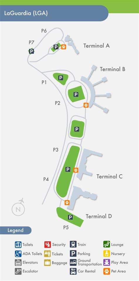 lga terminal map laguardia airport gates gallery