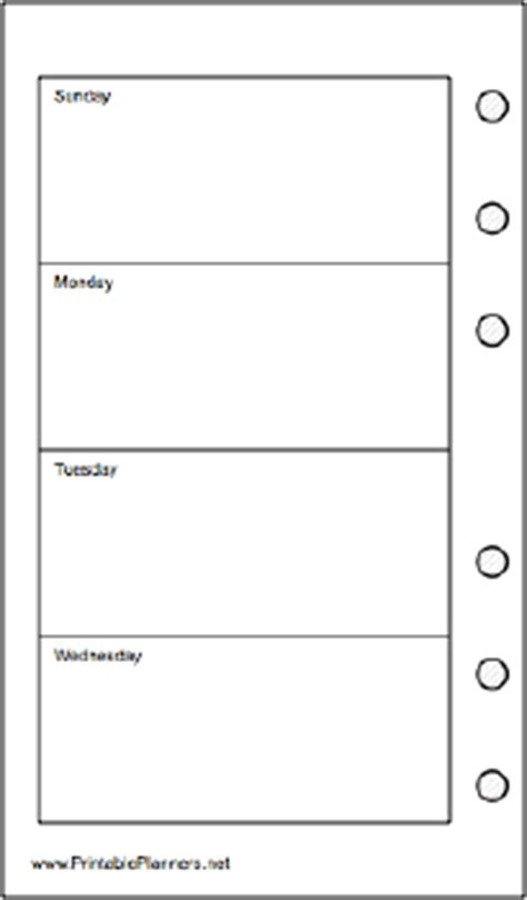 printable pocket organizer pocket organizer weekly planner week on two pages left