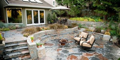 cost of a flagstone patio flagstone patio benefits cost ideas landscaping network
