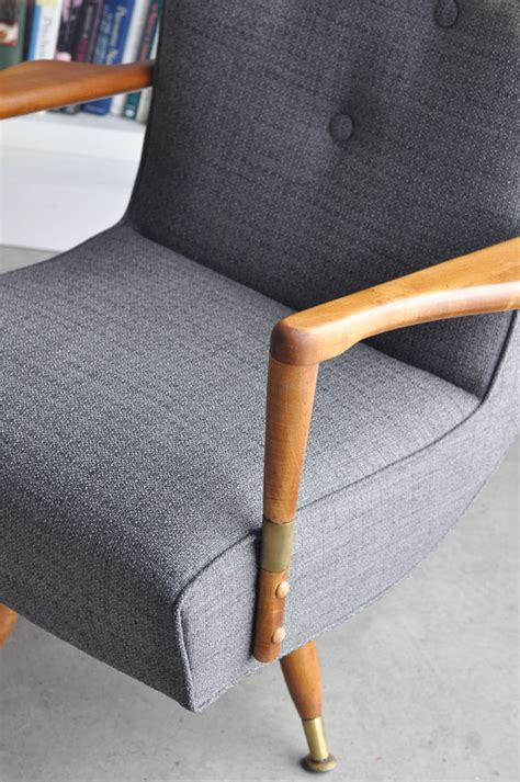 Where To Get Chairs Reupholstered Reupholstered Mid Century Chairs Visualheart
