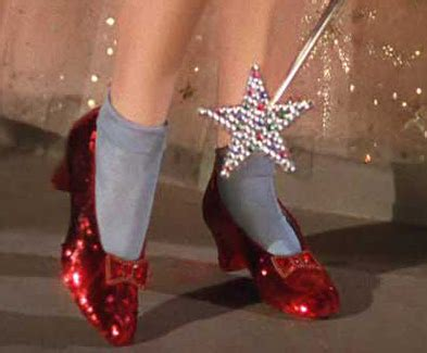 where are the ruby slippers a broad abroad quot just click your heels together three