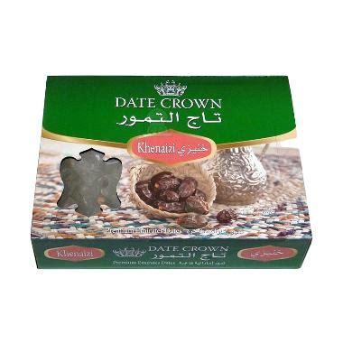 Kurma Date Crown Khalas 250gr Berkhasiat jual dates crown kheanezi kurma harga kualitas terjamin blibli