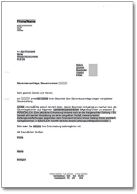 Musterbrief Parkverbot Vorlage Einspruch An Das Finanzamt Gegen S 228 Umniszuschl 228 Ge At Musterbrief