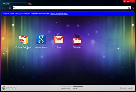 Complete Themes For Google Chrome | ice cream sandwich theme for google chrome browser i
