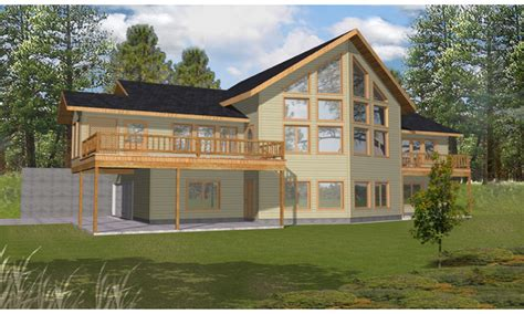 lake view home plans covered porch design view plans lake house lake house