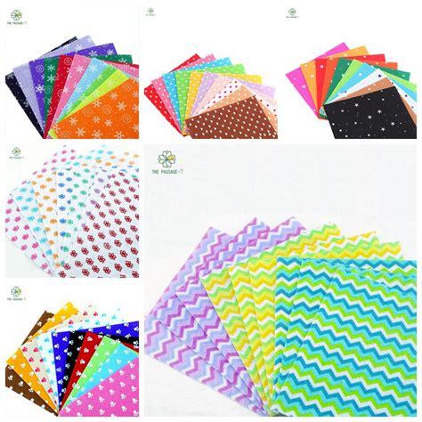 printable felt fabric craft felt felt fabric print 56 designs 6 pack combination