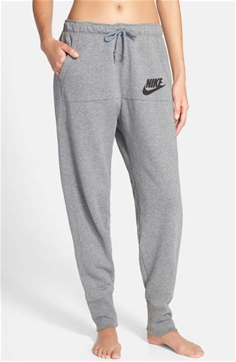 light grey nike sweatpants nike rally jogger sweatpants in black carbon heather
