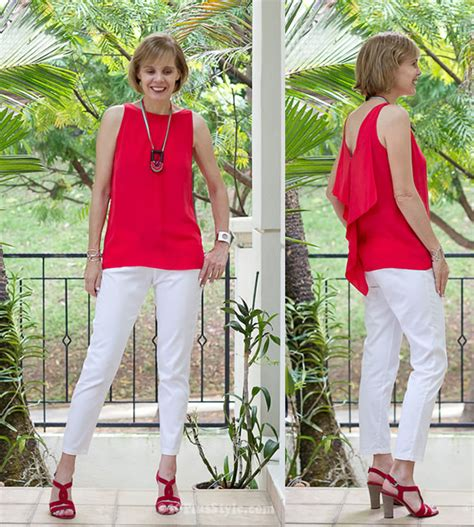 what looks good with red how to dress for summer