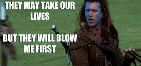 Braveheart Freedom Meme - mel gibson memes