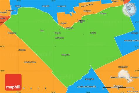 ottawa ontario canada map political simple map of ottawa