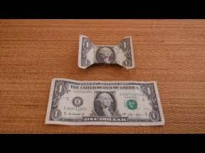 Dollar Bill Origami Bow - dollar bill bow tie how to make a bow tie from a dollar