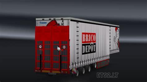 brico depot brico depot trailer ets 2 mods