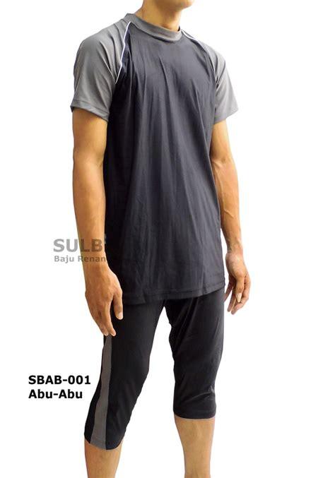 Baju Muslim Laki Laki Terbaik baju renang muslim laki sbab 01 abu abu distributor dan toko jual baju renang celana alat