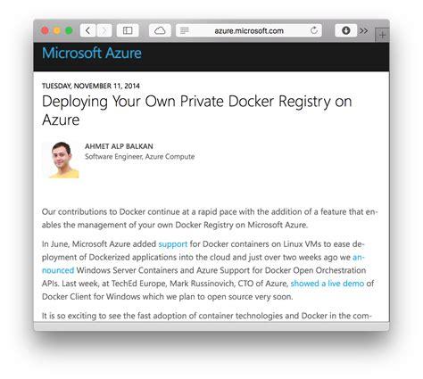 docker hyper v tutorial home ahmetb blog