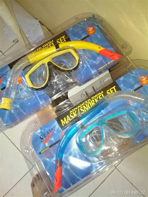 Merk Advance jual snorkel glide mask merk advanced rajabrewok