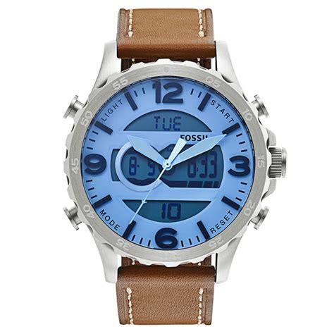 Fossil Jr1492 Jam Tangan Pria jam tangan fossil jr1492 analog digital original