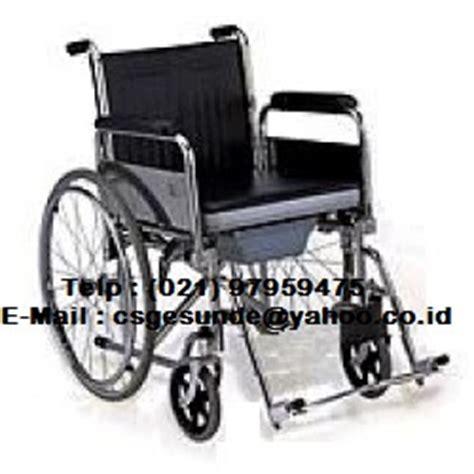 Ranjang Besi Samarinda jual kursi roda 2in1 dengan harga murah toko medis jual