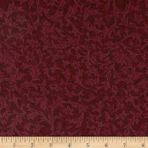 Wide Quilt Back Fabric by 110 Wide Flannel Leaf Quilt Backings Discount Designer
