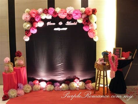 Wedding Backdrop Kl by Purple Event Malaysia
