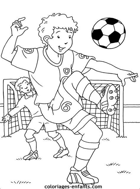 Coloriage Football Les Beaux Dessins De Sport 224 Imprimer