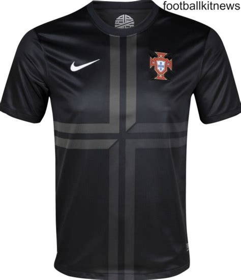 Jersey Portugal 3rd new portugal away kit 2013 2014 black portugal jersey 13