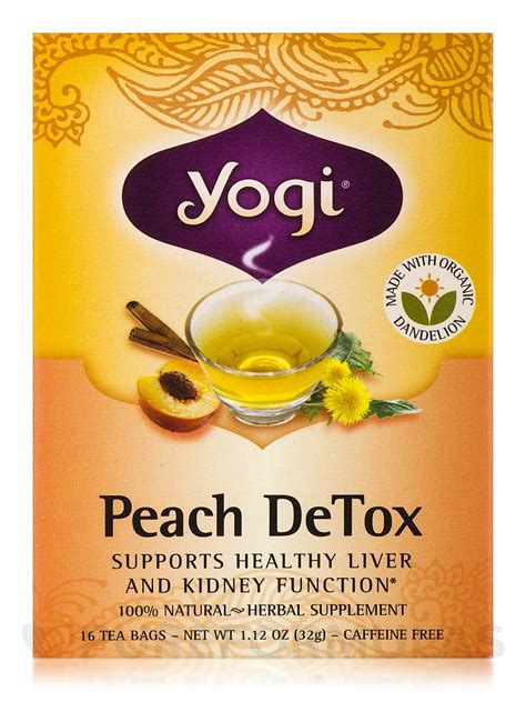 Is Yogi Detox Tea Safe While Nursing by Detox Tea 16 Tea Bags