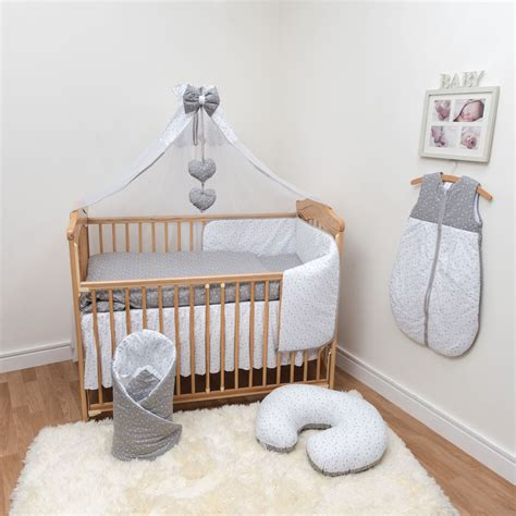 Cot Bed Bumper Set Cot Cot Bed Bedding Set 3 Pcs 6 10 12 Sheet Pillow Duvet Bumper Canopy Ebay