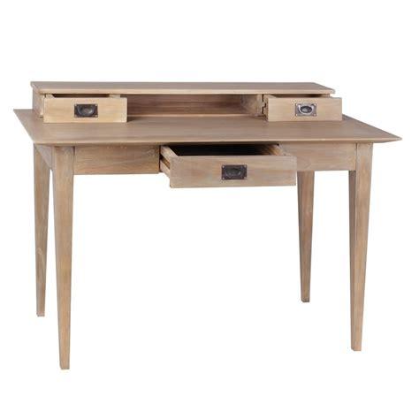 scrivania legno naturale scrittoio legno naturale scricabie etniche vendita