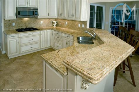 Colonial Countertop - colonial gold granite kitchens granite kitchen