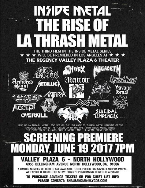 afterdark writes documentary the rise of the third reich a comprehensive documentary third inside metal film recounts rise of la thrash metal