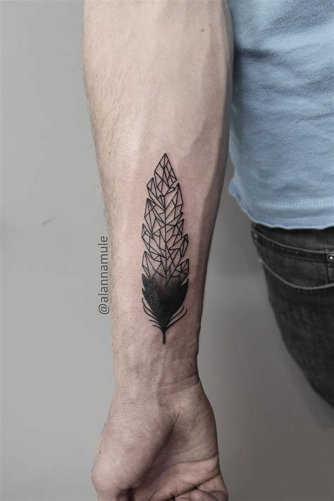 geometric forearm tattoo 40 impressive forearm tattoos for